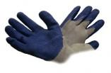 Перчатки трикотажные с латексным покрытием ладоней